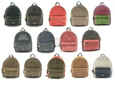 Coach Coated Canvas Leather Medium Charlie Backpack Bag