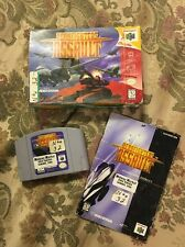 AeroFighters Assault (Nintendo 64, 1997) Complete In Box Tested !!