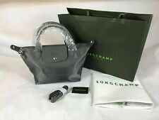 New Longchamp Le Pliage Neo Nylon grey Small 1512 Made in France
