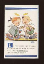 Artist MABEL LUCIE ATTWELL #797 Unused post WW1? Children angels PPC