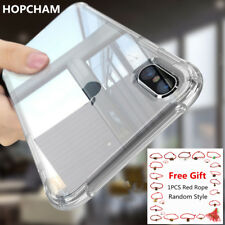 For iPhone 11 XR XS 7 6 Case Soft Silicone Clear Transparent Slim Gel TPU Rubber