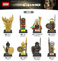 X0163 Baukästen Alte ägyptische Pharao Mumie Tutankhamun Ares Athena Ritter