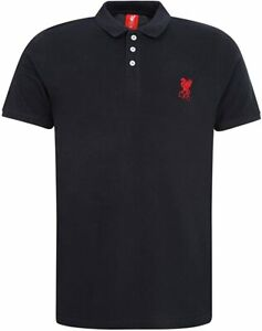 BNWT Official Liverpool LFC Navy Blue Conningsby Polo Shirt Size Large