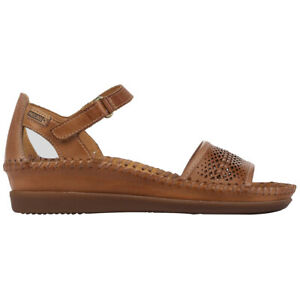 Pikolinos Womens Sandals Cadaques W8K-1875 Casual Ankle Strap Leather