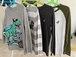 Next Long Sleeve Dinosaur T-shirt Bundle Age 5-6