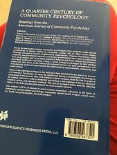 Un cuarto de siglo de comunidad Psicología: lecturas de la American..
