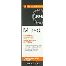 Murad Essential-C Eye Cream Spf 15 0.5oz (15ml) Brand New