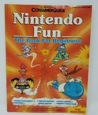 NINTENDO FUN Book For Beginners by CONSUMER GUIDE 1990