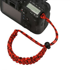 1Pc Soft Camera Adjustable Wrist Lanyard Strap Grip Weave Cord For Paracord DSLR