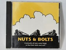 1993 NUTS & BOLTS CD: Steve Johnson,  Blues Guitar Signed    FREE Ship