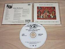 JOHN RENBOURN CD - THE LADY & the UNICORN / CASTLE in MINT