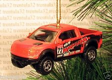 2010 FORD F-150 SVT RAPTOR 4x4 '10 Race Truck CHRISTMAS ORNAMENT Racing Pickup