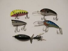 Lot Of 5-Fishing Lures-Various Brands