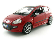 FIAT PUNTO EVO 1:24 scale diecast model die cast cars models metal car red