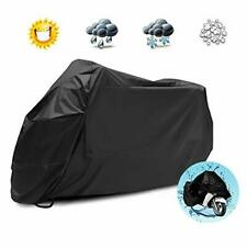 Motorcycle Cover, Waterproof Motorbike Cover Large Heavy Duty Oxford Fabric