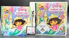 Spiel: DORA RETTET DIE MEERJUNGFRAUEN für Nintendo DS + Lite + XL + 3DS + 2DS
