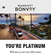 Marriott Bonvoy Platinum Status for 90 days and extendable to Feb 2022