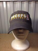 Indiana Pacers Basketball Ball Hat Cap Nba Strapback Black (b24)