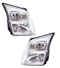 Ford Transit MK7 2006-2014 Chrome Front Headlight Headlamp Pair Left & Right