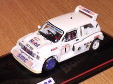 IXO 1/43 MG Metro 6R4 Manx Nat Rally 1987 Code 3 Group B Rally