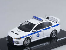 1/43 Scale model Mitsubishi Lancer Evolution X Greece Police