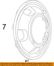 CHRYSLER OEM Wheels-Wheel Cover 52106937AB