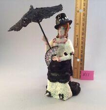 Dollhouse miniature 1/12th scale  Victorian Elegant lady  Jan Smith #11