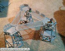 HC3D -Terra Terrain Tower Kit 3 Pack- Wargames Miniatures Scenery 40k 28m