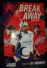 Washington Capitals Pittsburgh Penguins 2018 Stanley Cup Playoffs Program Game