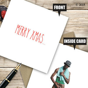 Rude Christmas Card Adult Humour Funny Offensive Xmas D65