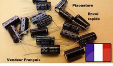Lot de 4 Condensateurs 2200µF 16V JAKEC pas de 5.08mm