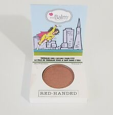 TheBalm Foiled Again Single Eyeshadow in Red Handed 1.2g New & Unused