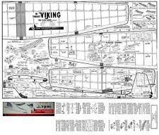 CARL GOLDBERG VIKING PLANS FREE FLIGHT PYLON MODEL