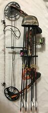 Mission by Mathews Craze Orange-Camo with Quiver Adjustable Bow