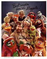 Jim Henson Muppets Autographed Signed 8x10 Photo Reprint