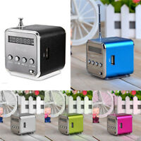Portable Micro USB Mini Stereo Super Bass Speaker Music MP3/4 FM Radio