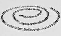 """14k White Gold Cable Link Pendant Chain/Necklace 18"""" 3 mm 4.5 grams WRCAB80"""