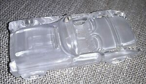 Mikasa Crystal Ornament Convertible Automobile Car In Excellent Condition