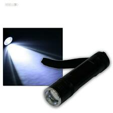 HighPower LED ALUMINIO LINTERNA 10w Chip con zoom