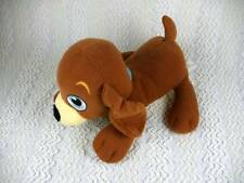 Dora the Explorer Plush Perrito Brown Puppy Dog Mattel Fisher Price 2010 8""