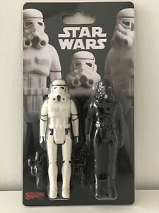 Star Wars Crazy Toys Stormtrooper Shadowtrooper Figures 3.75 Double Pack Bootleg