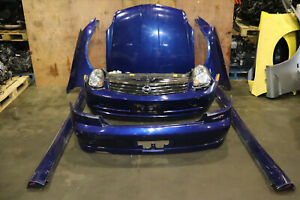 JDM 03-04 Nissan 350GT Coupe v35 Infiniti G35 Front End Nose Cut Bumpers, Skirts