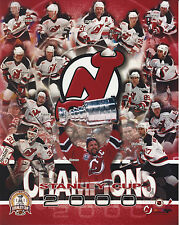 NEW JERSEY DEVILS STANLEY CUP 2000 8 X 10 PHOTO WITH ULTRA PRO TOPLOADER