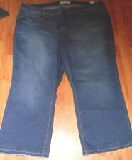 NWT TORRID BRAND CROPPED JEANS FLARE DISTRESSED HEMS SZ 22