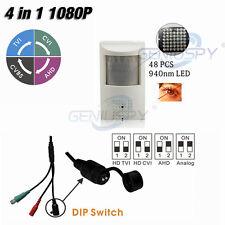 1080P PIR Style Motion Detector  940NM IR LED 960H/AHD/TVI/CVI 4 IN 1 Camera Spy