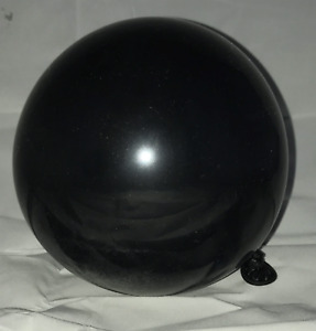 Small Black Balloons Reflective Finish limited Stock Free 2nd Class Post