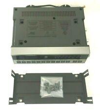 Vintage GE Under Counter SpaceSaver AM/FM Clock Radio Timer 7-4220A w/ Brackets