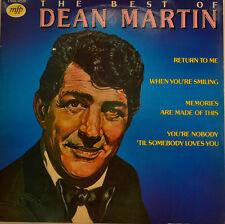 """DEAN MARTIN - THE BEST OF DEAN MARTIN 12"""" LP (T941)"""