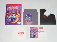 Nintendo NES, MIGHTY FINAL FIGHT (100% Authentic) Complete w/ Manual CIB Boxed
