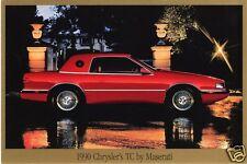 1990 Chrysler TC Maserati, Refrigerator Magnet,40 MIL